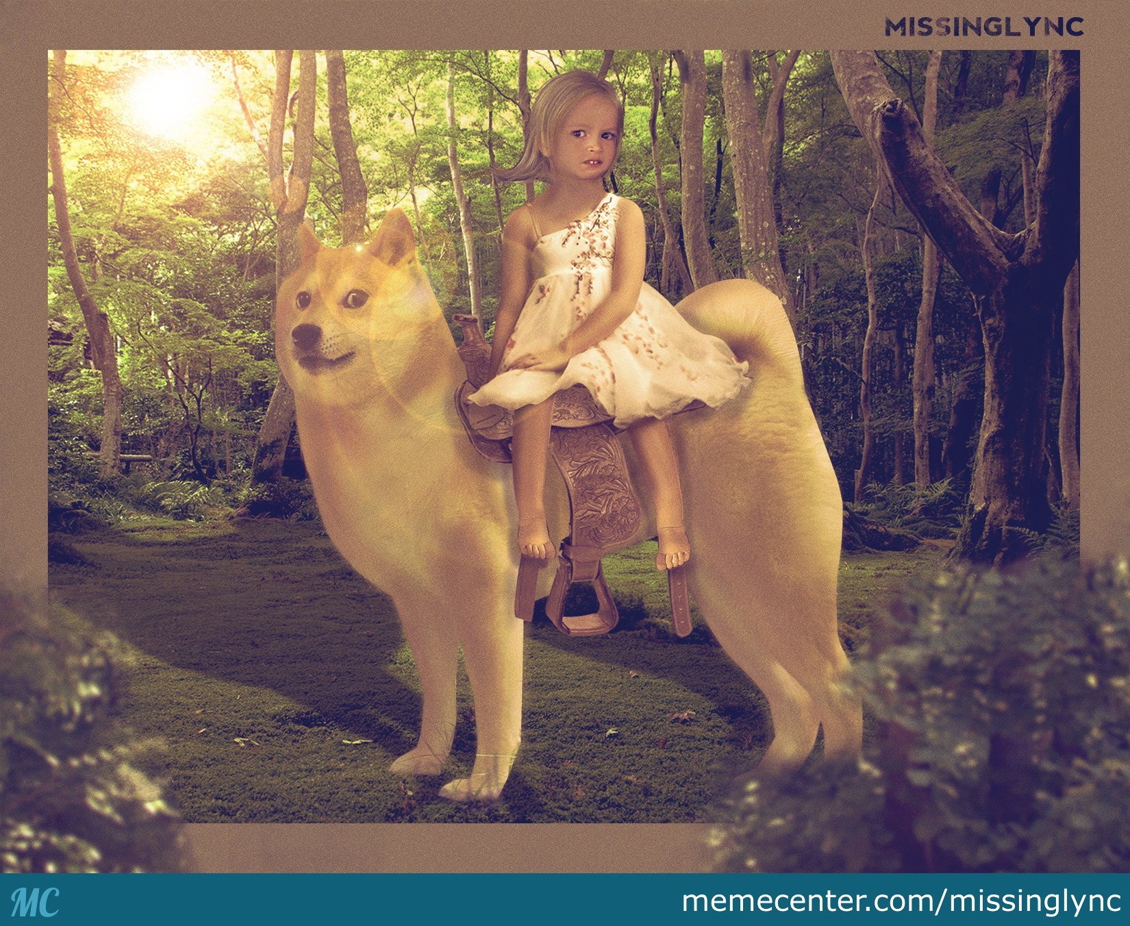Chloe And Her Trusted Doge