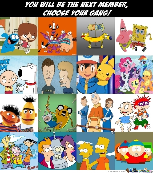 Choose Your Gang!