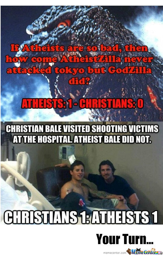 christians vs atheist_o_886758 christians vs atheist by snajath meme center