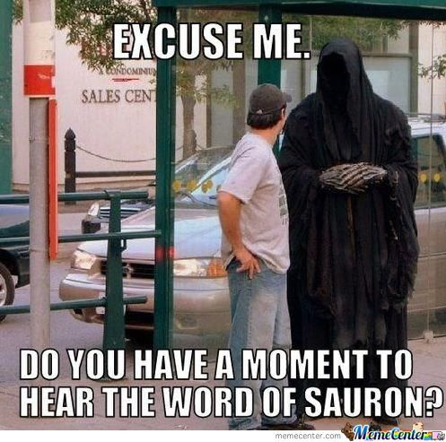 Christians Vs Sauron