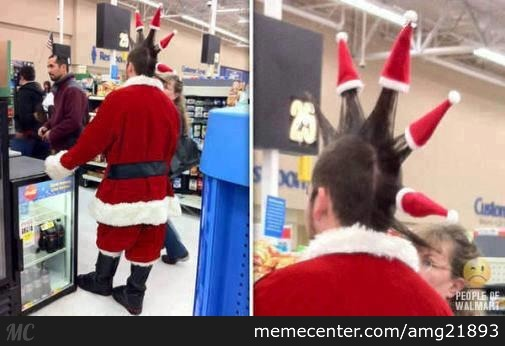 Christmas Shopping At Walmart   by amg21893 - Meme Center