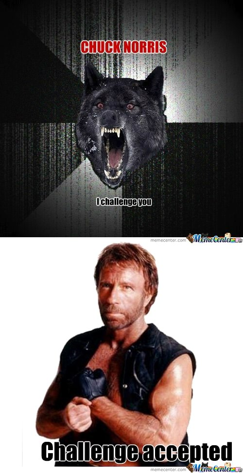 chuck norris accepts