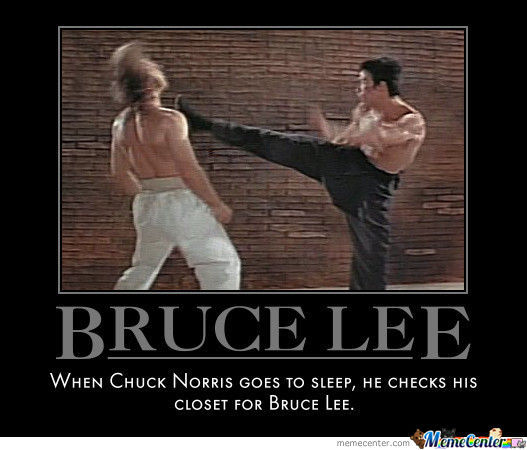 Chuck norris gets ass kicked all clear