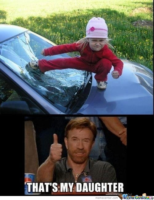 25+ Best Chuck Norris as a Child Memes | Chucks Memes ...