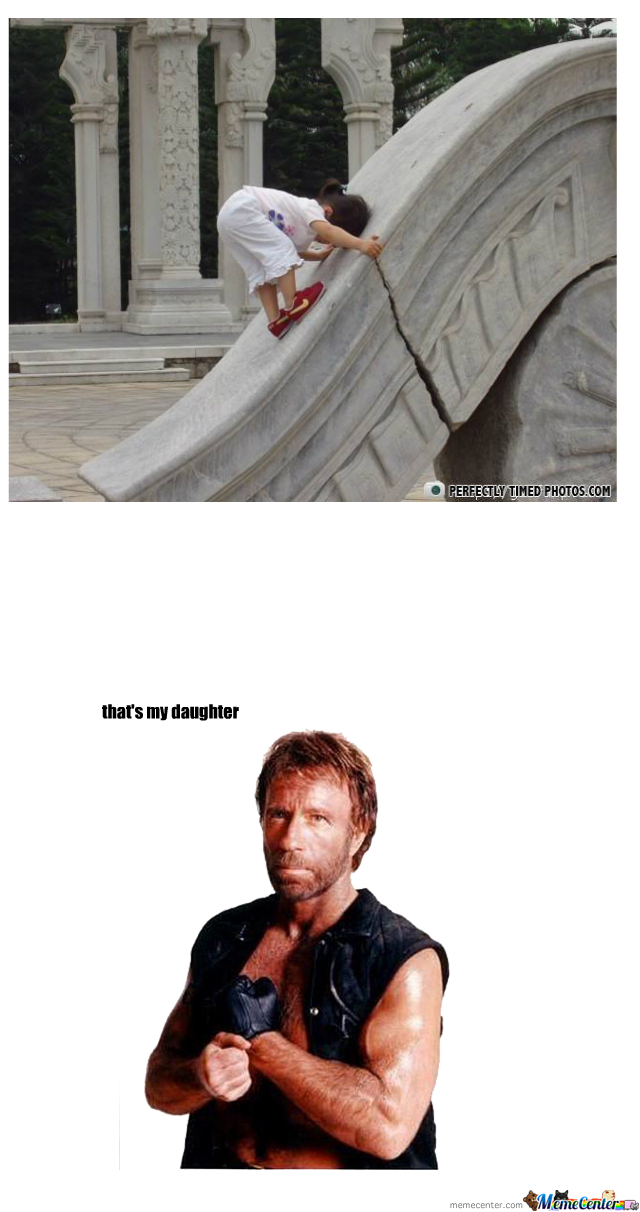 Chuck Norris has a daughter | Funny