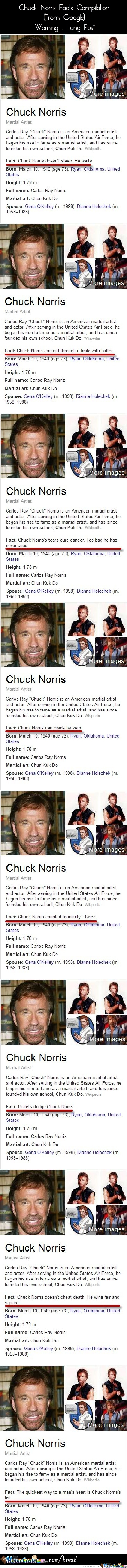 Chuck Norris Facts Compilation