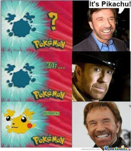 Chuck Norris Is Always Right