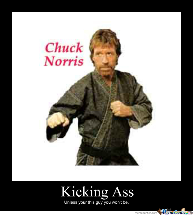 Sorry, chuck norris liam neeson's face can kick your ass any day