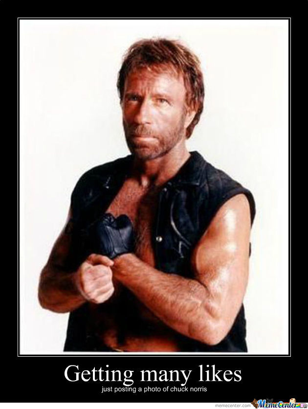 Chuck Norris Said: Like It!