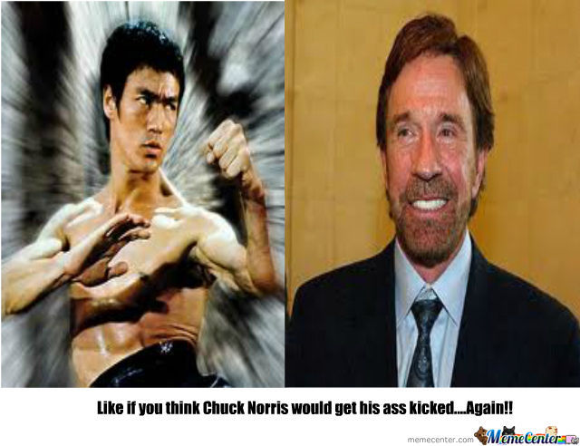 You deserve to get your ass kicked by chuck norris