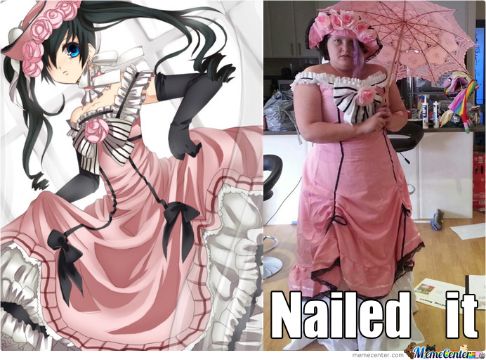 Ciel Cosplay Nailed It