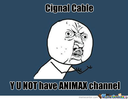 Cignal Cable Fail