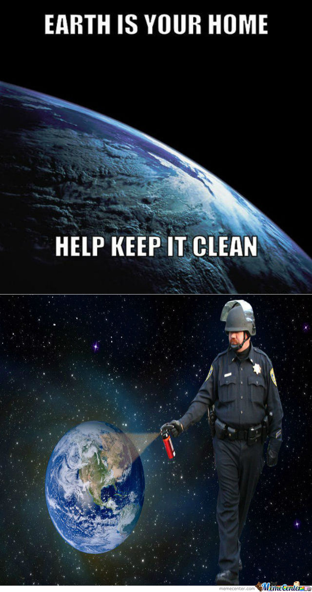 Cleaning Earth Like A Boss By Ithieve Meme Center