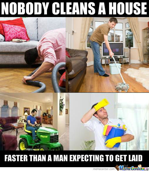 Cleaning Fast