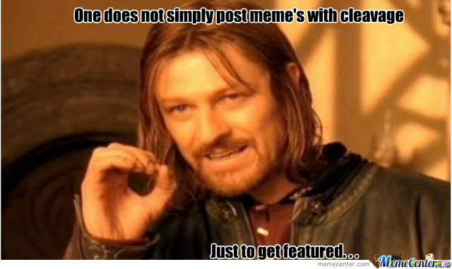 Cleavage Boromir