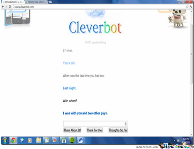 Clever Bot Convo