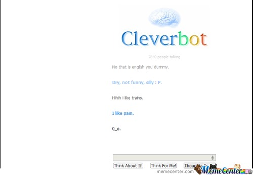 Clever Bot Is Emo