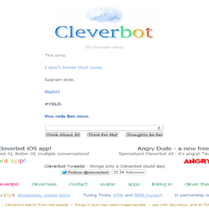 Cleverbot Gone Hipster    by zaoryo - Meme Center