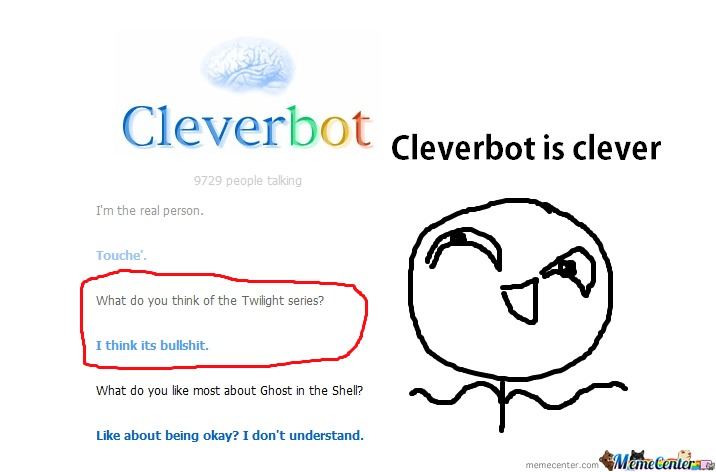 Cleverbot Hates Twighlight
