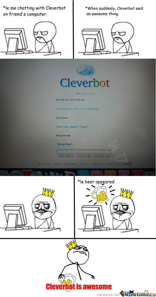 Cleverbot Is Awesome