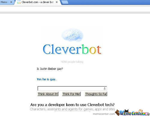 Cleverbot Is Just Too Clever...