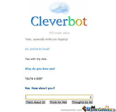 Cleverbot Strikes Again