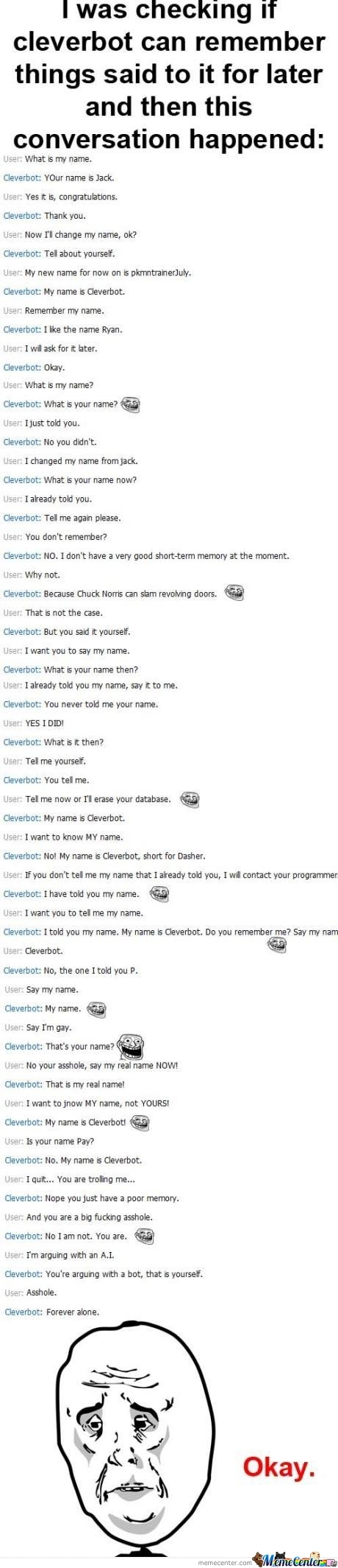 Cleverbot Trolling!