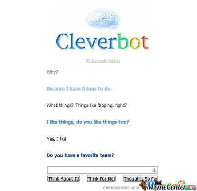 Cleverbot... Wtf?