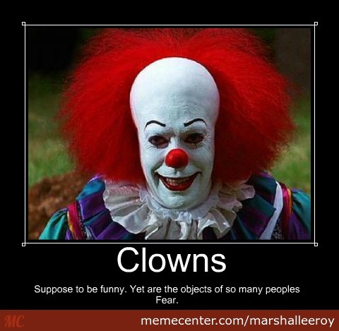 Clown(They Were Suppose To Be Funny)