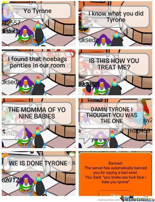 Club Penguin Drama