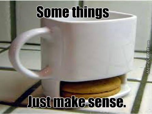 Coffee? Good. Cookies? Good. Coffee And Cookies? Orgasm