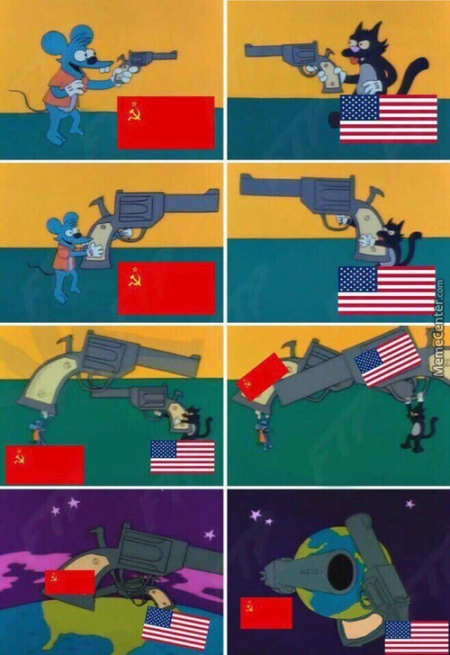 Cold War In A Nutshell