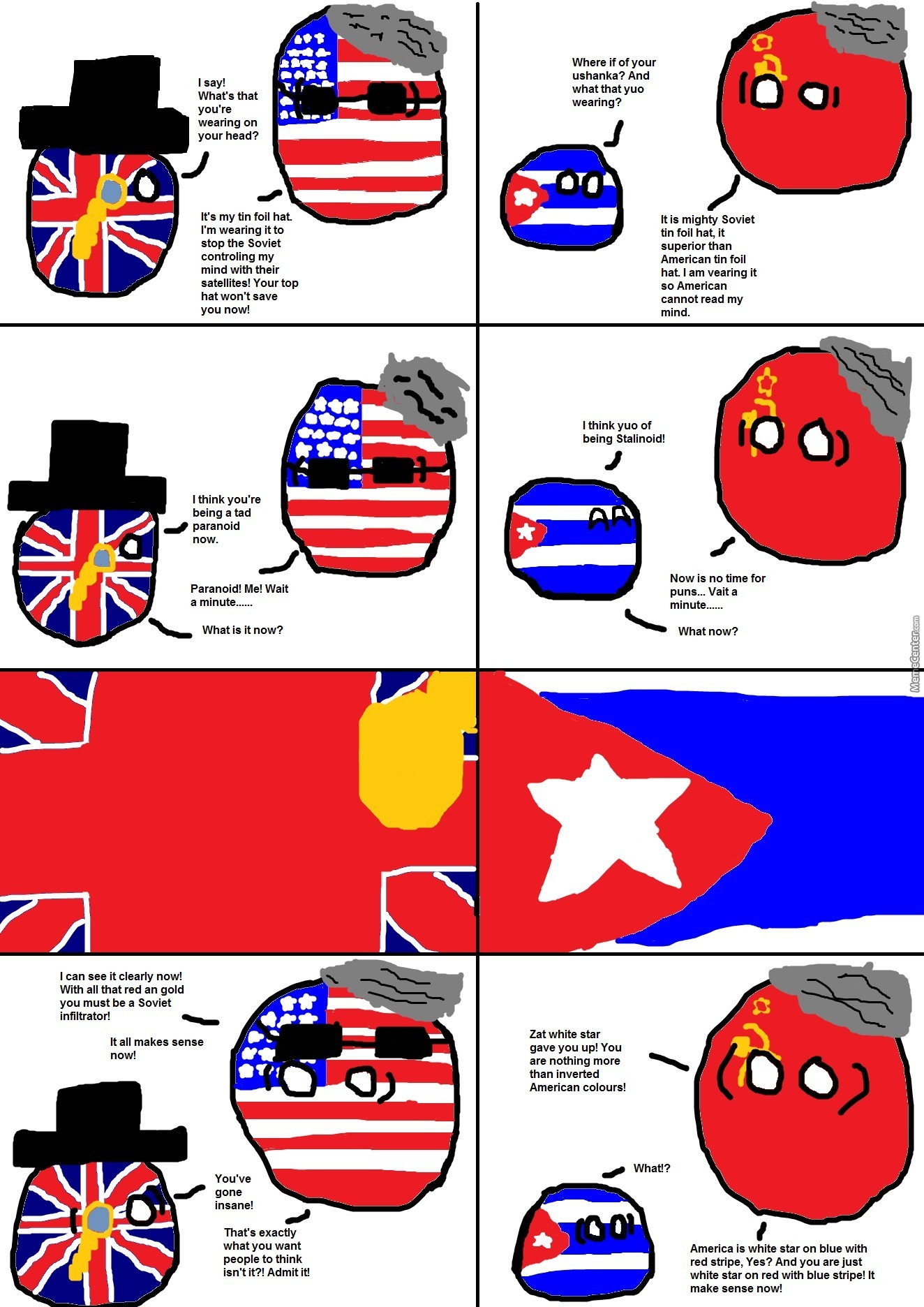 Cold War Paranoia By Bloatarder Meme Center