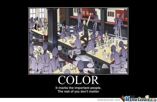 Colors. They Matter.