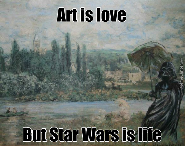 Come To The Dark Side, We Have Art Supplies