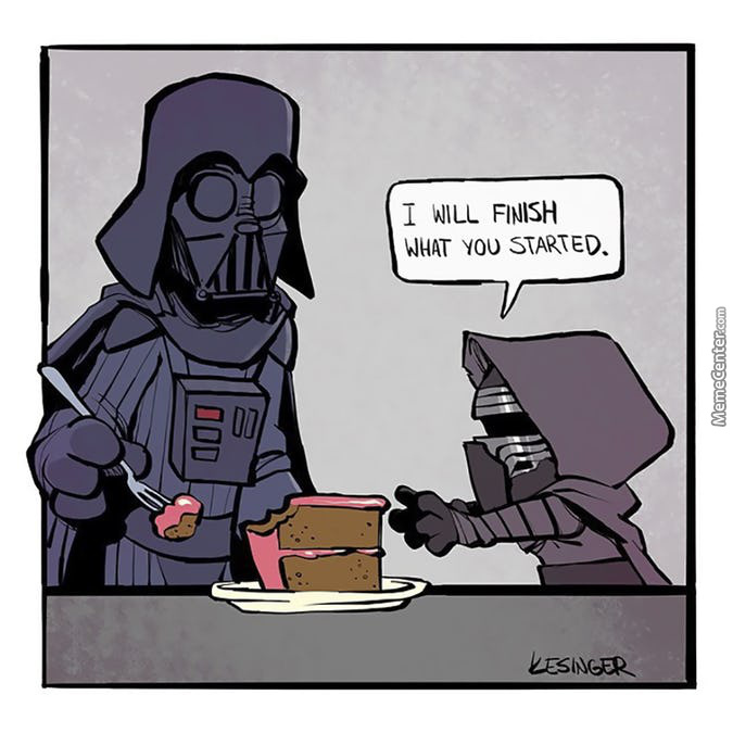 Come To The Dark Side. We Have Cake