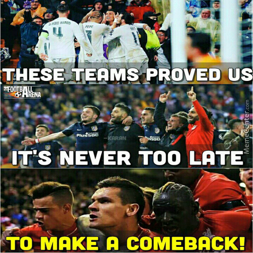 Comeback Kings...