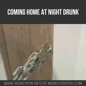 coming home at night drunk_fb_1645115 coming home at night drunk by clairvoyant meme center