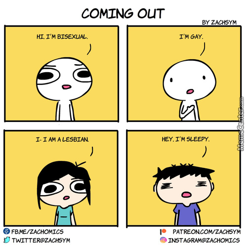 Coming Out ...