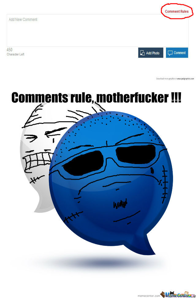Comments Rule, Motherfucker !