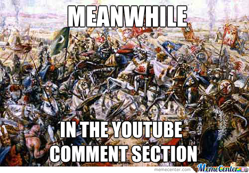 Commment Wars, Comment Wars Everywhere