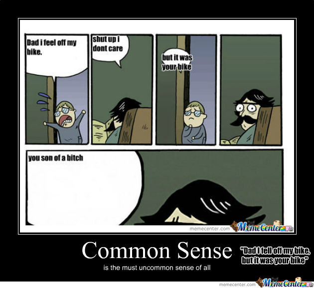 common sense this person has none_o_186148 common sense, this person has none by tartzombie meme center