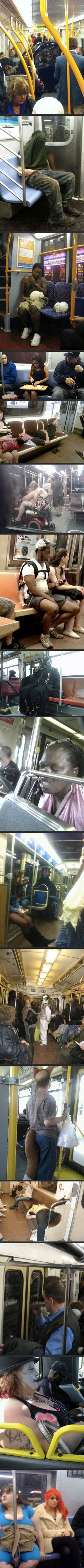 Compilation Of Crazy People On Subways.