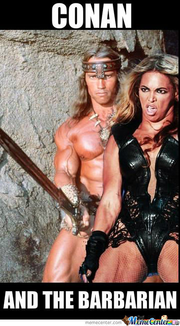 Conan And The Barbarian