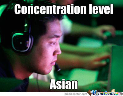 Concentration Level Asian