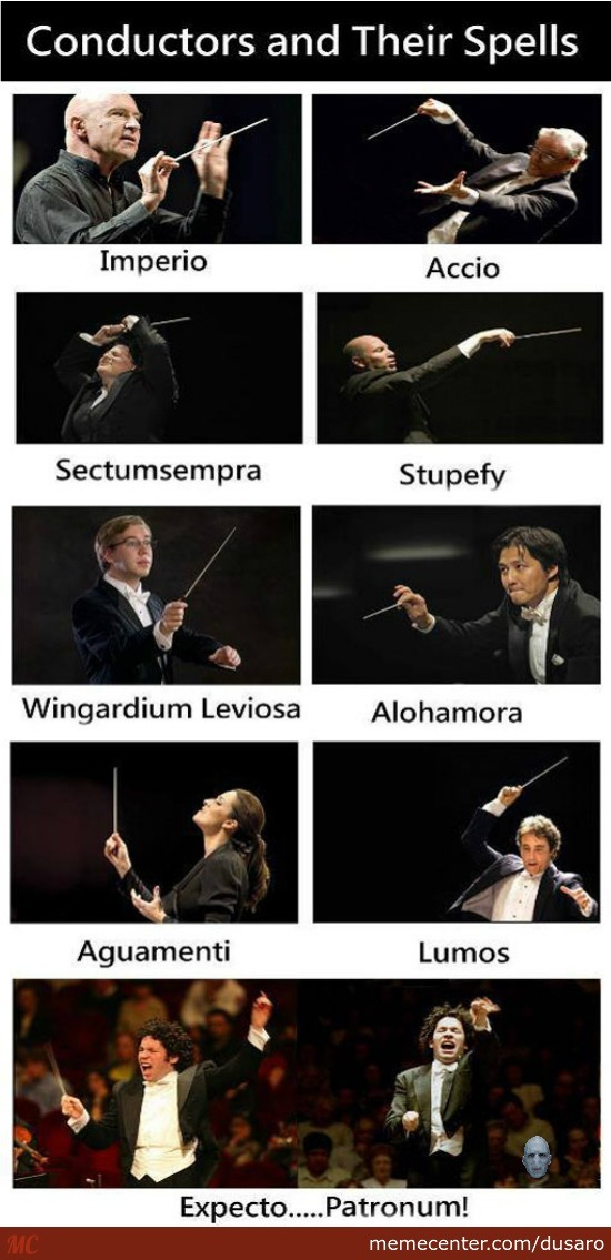 Conductor And Their Spells
