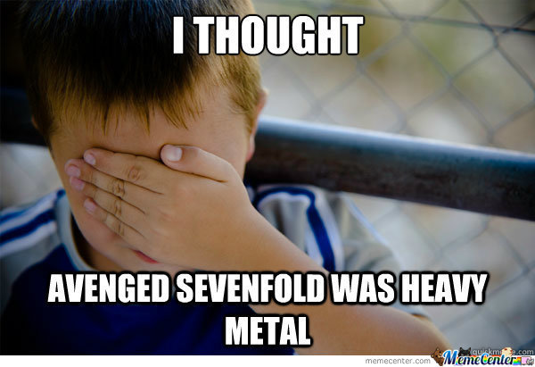 Confession Kid About A7X
