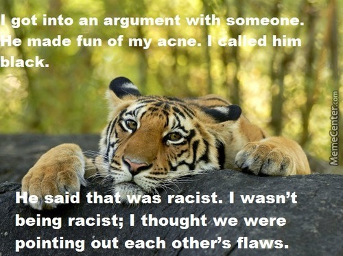 Confession Tiger: Flaws