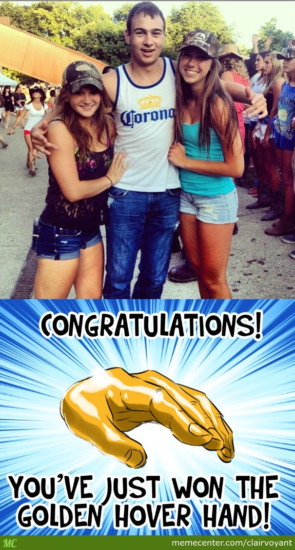 Congratz Dude! (Credit To Nedesem For The Hover Hand)