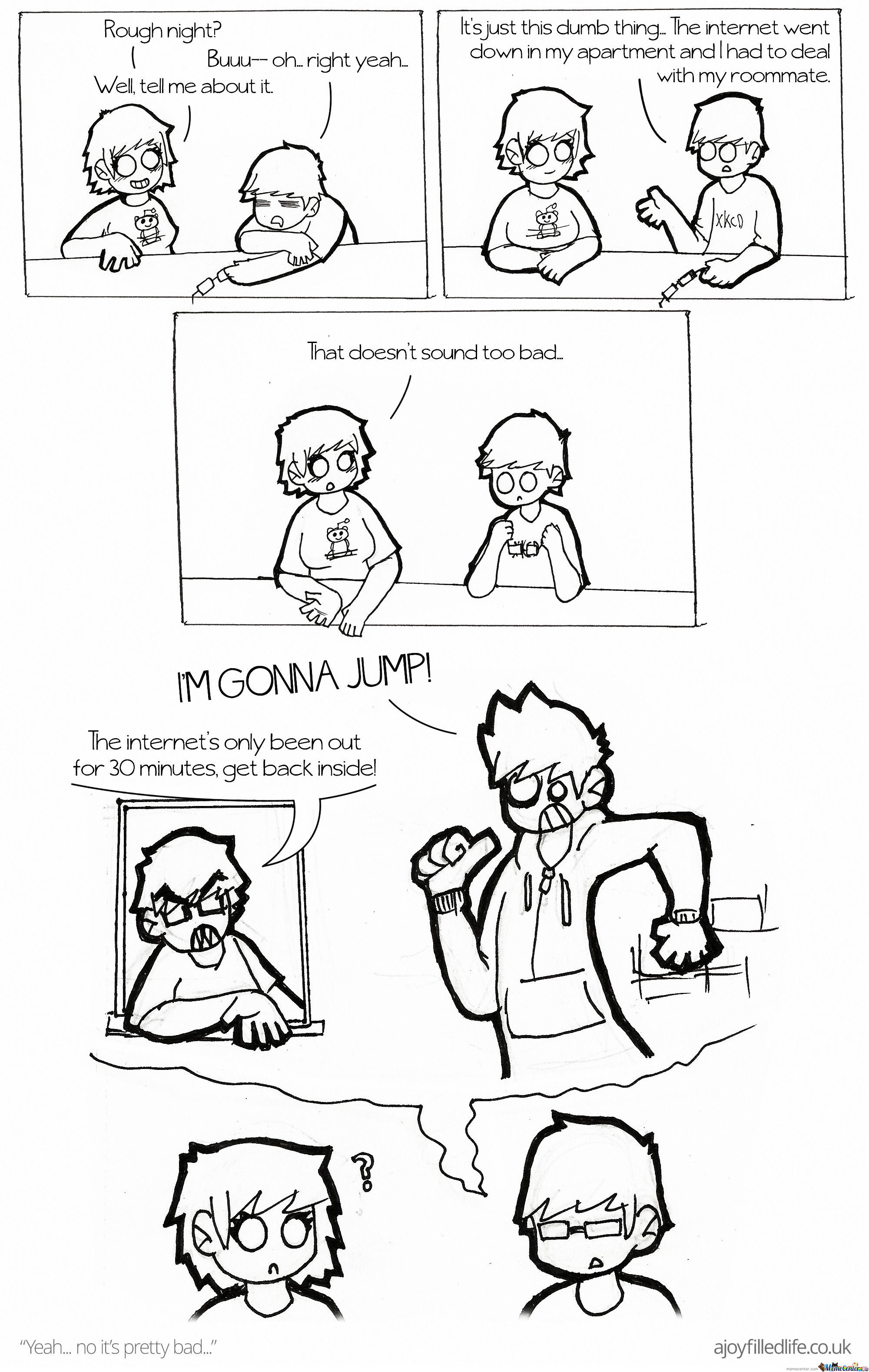 Connection Timed Out -Part 2 by ajoyfilledlife - Meme Center